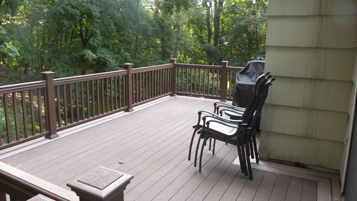 Deck Repairs Completed By Craftsman Contracting.
