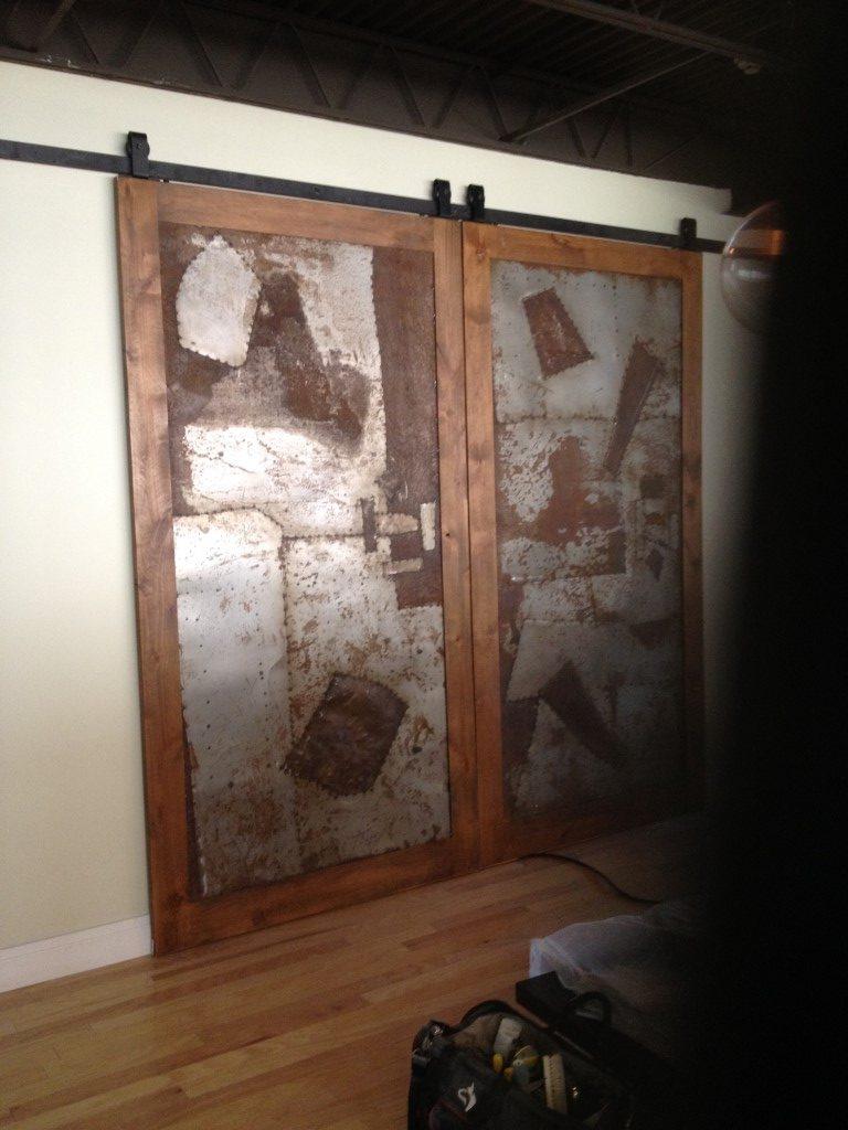 Custom Barn Door Installation Finishing Carpentry