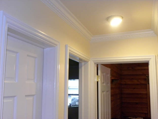 Finish Carpentry - Door Casings and Crown Molding