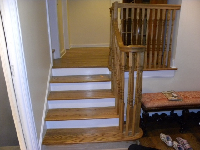 Wood Staircase Rebuilding and Replacement