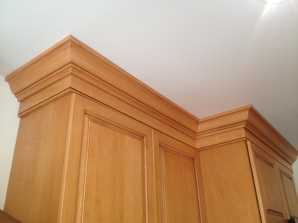 Crown Molding For Kitchen Cabinets.