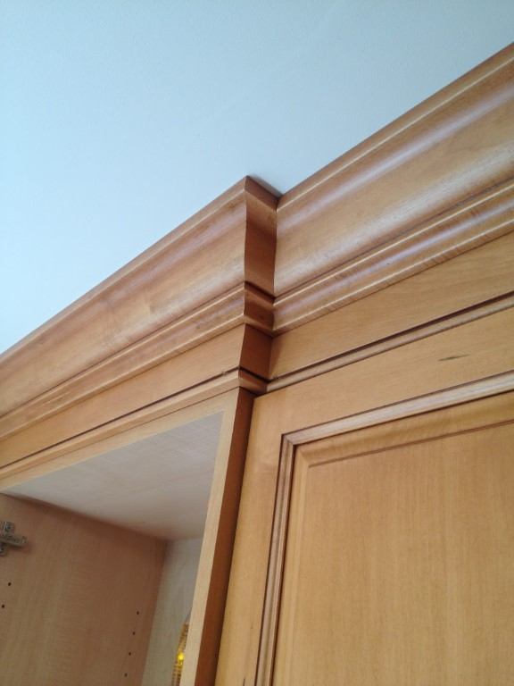 Crown Molding and Finishing Carpentry For Kitchens in Fairfield County CT.
