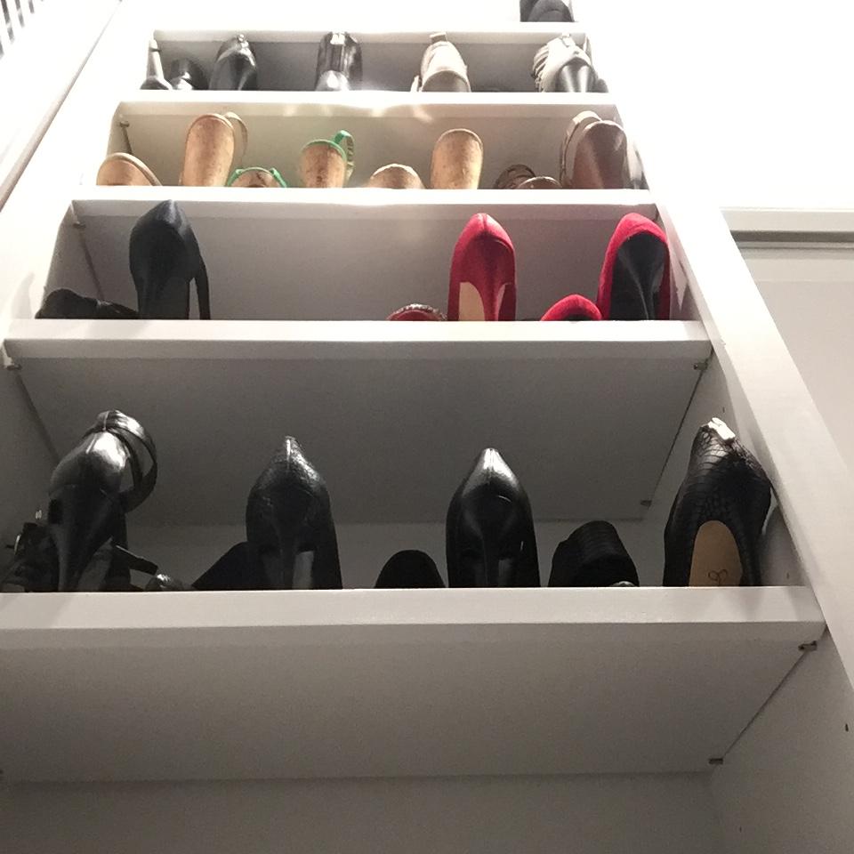 Shoe storage Norwalk, CT